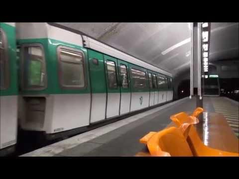 Paris m tro m8 mf77 porte de charenton youtube - Porte de charenton metro ...