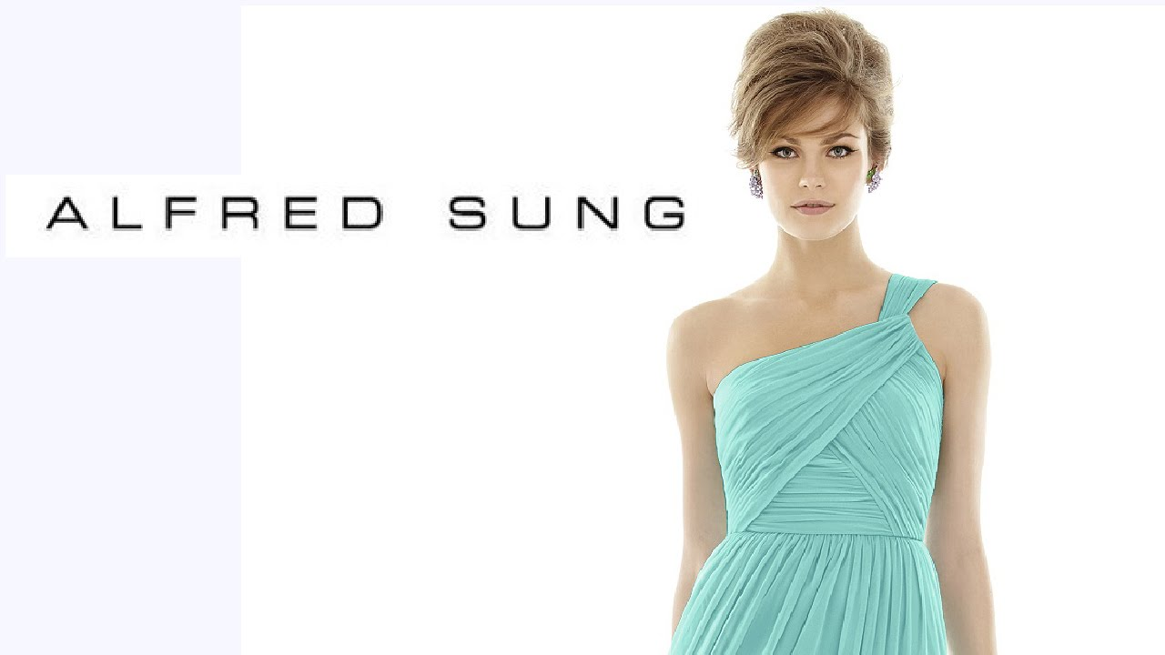 Alfred Sung Bridesmaid Dresses - YouTube