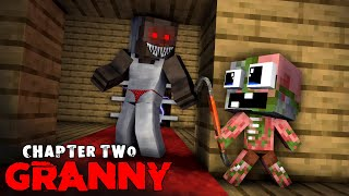 Monster School : GRANNY CHAPTER 2 CHALLENGE - Baby Minecraft Animation
