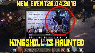 KINGSHILL IS HAUNTED - NEW EVENT 26.04.2016 + Sargon Kill | Drakensang Online Testserver