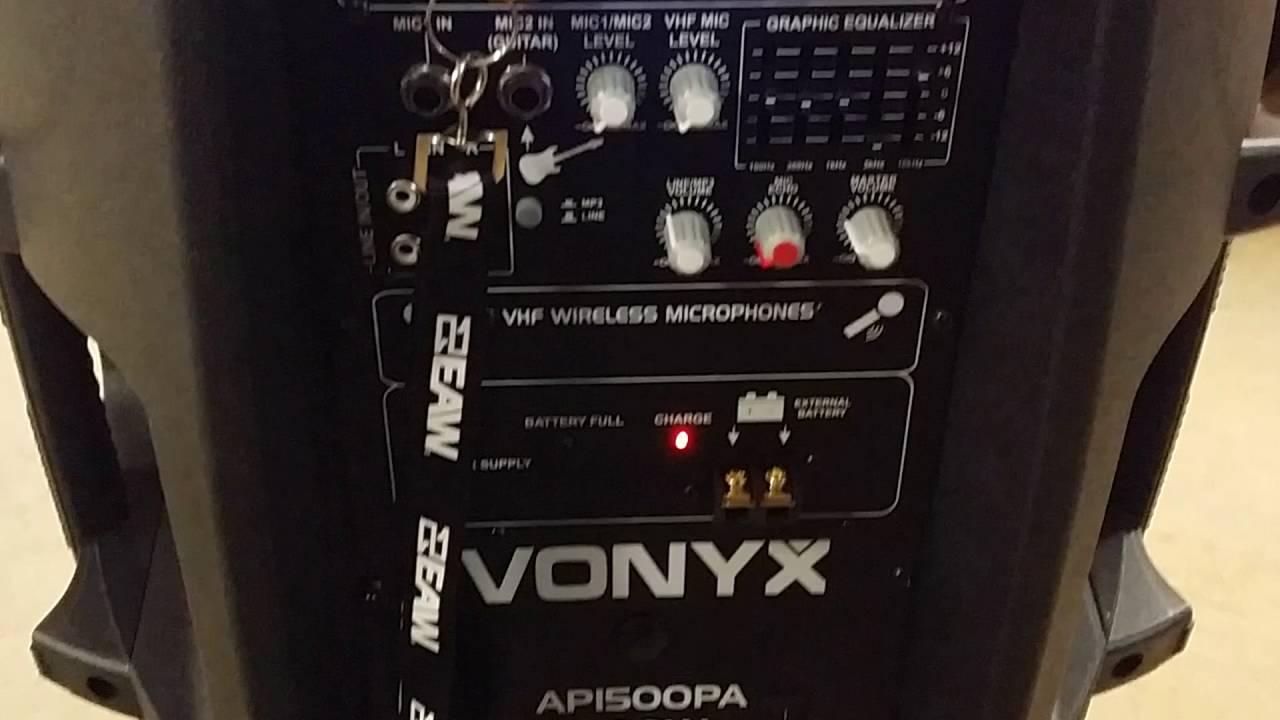 170.337 Vonyx 15