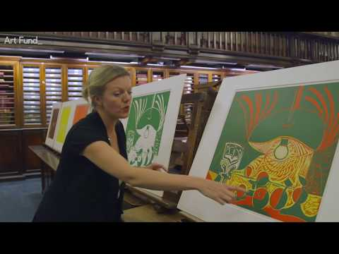 Picasso linocuts acquired by the British Museum
