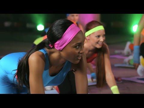 Exclusive: 80s Fitness Challenge -- Tidimalo