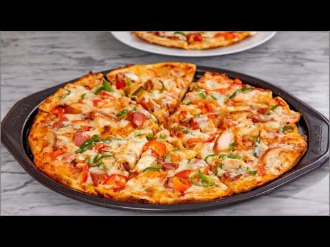 Home-Made Pizza Recipe (2 Easy Ways) - Gas Cooker Method/Oven Method - ZEELICIOUS FOODS