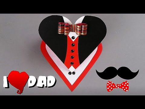 FATHER'S DAY CARD - EASY TUTORIAL / DIY CARDS