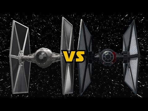 TIE Fighter Comparison: Galactic Empire vs First Order vs FO Special Forces