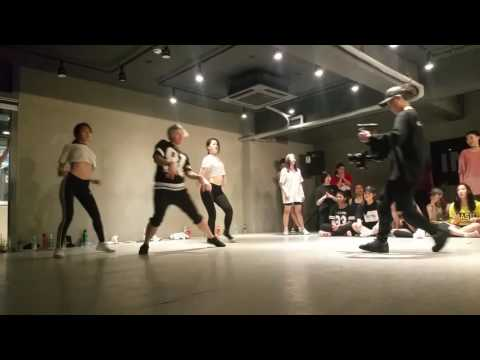 My first time at 1 Million dance studio - Hyojin Chois dance class
