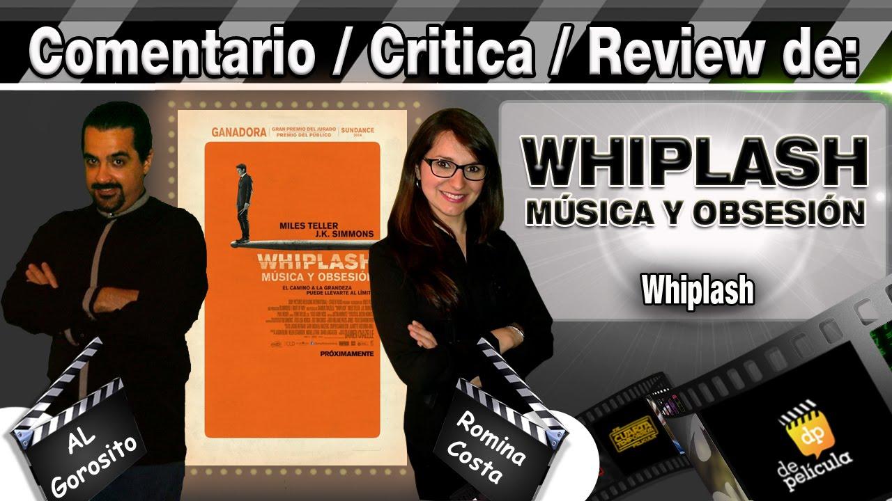 Ver WHIPLASH MUSICA Y OBSESION – comentario / review / opinión / critica de la pelicula en Español