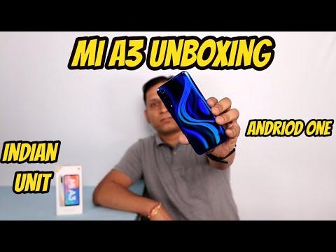 Xiaomi Mi A3 Unboxing Indian Unit I Android One I Super Amoled