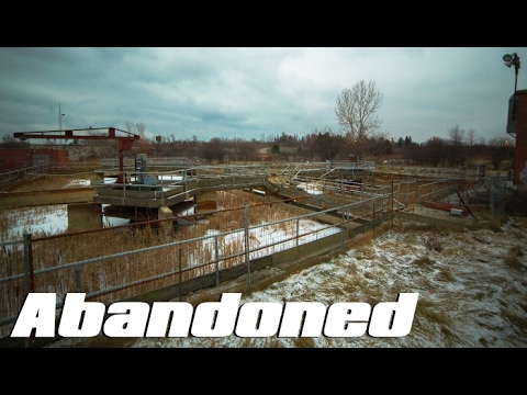 ABANDONED Water Treatment Plant Exploration (ft. Bright Sun Films)