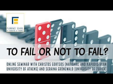 To Fail or Not to Fail? - Seminar with Christos Gortsos and Seraina Grünewald