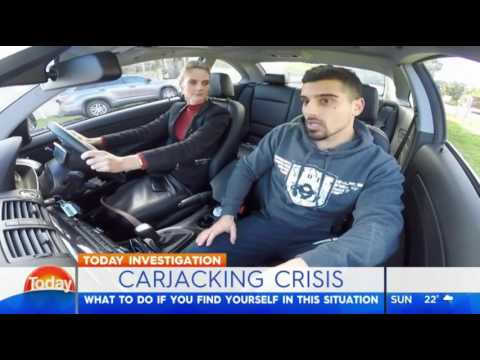 Learn how to survive a carjacking