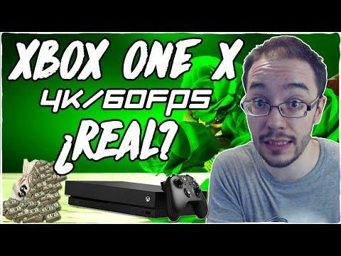 XBOX ONE X - 4K/60fps - ¿Nos intentan ENGAÑAR o es REAL?