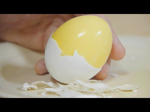 How to Scramble Eggs Inside Their Shell - NEW VERSION