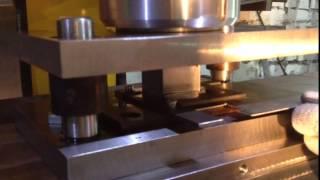 видео Производство кляммеров из оцинкованной стали