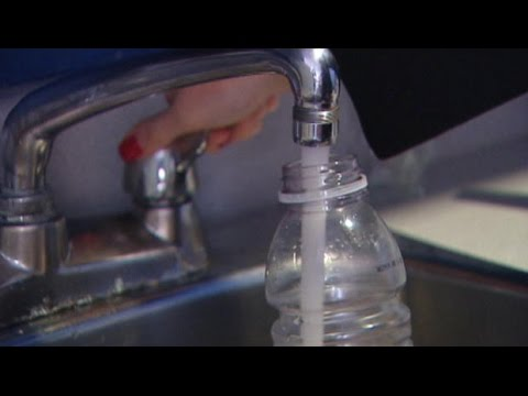 Drinking water contaminated by excreted drugs