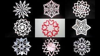 як зробити сніжинки своїми руками для дітей