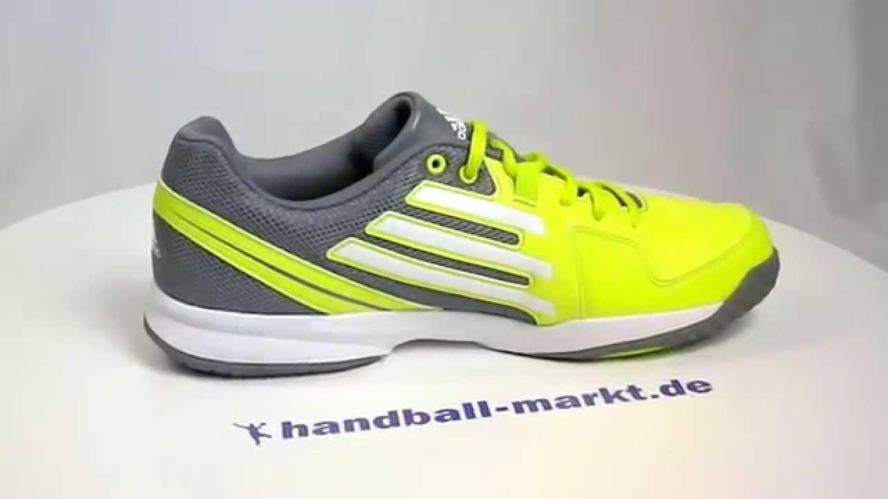 official photos 63895 1e594 Adidas Counterblast 5 Handballschuhe - neongrün 360° - YouTu