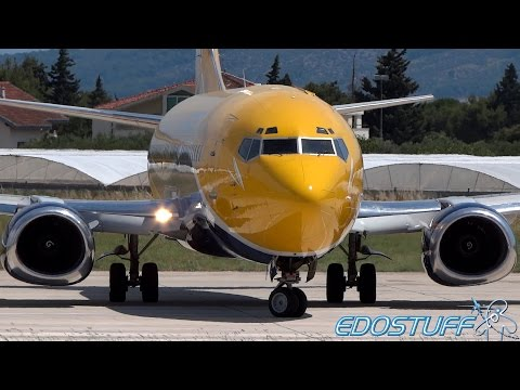 Europe Airpost - Boeing 737-3B3 QC F-GIXE - Takeoff from Split airport SPU/LDSP