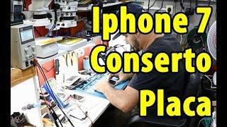 Conserto Iphone 7 reparo em placa