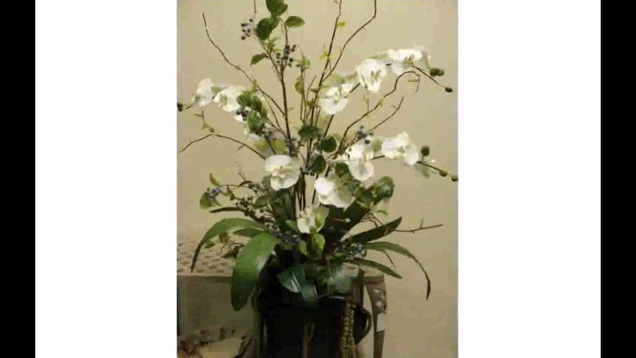 Modern artificial flower arrangements youtube modern artificial flower arrangements mightylinksfo Image collections