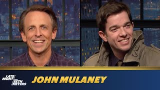 John Mulaney Never Thought He Should Be an SNL Cast Member