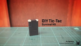 D.I.Y. Tic-Tac Box Survival Kit!