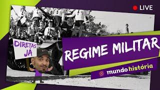 Aulão Ao Vivo - Grátis #02 - Regime Militar no Brasil (História) - ENEM 2015