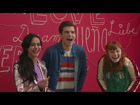 Disney's The Lodge: Bethan Wright, Luke Newton & Mia Jenkins 'pick A Side'