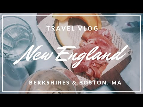 TRAVEL VLOG // NEW ENGLAND - Berkshires & Boston, MA | HellaJam