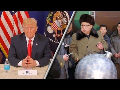 How will the United States respond to North Korea's nuclear threat?