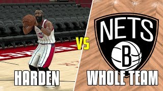 CAN JAMES HARDEN BEAT THE WORST NBA TEAM BY HIMSELF? NBA 2K17 GAMEPLAY!