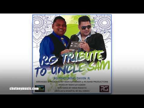 RG Band ft Davindra Ramdath - RG Tribute to Uncle Sam Boodram (2020 Chutney Music)