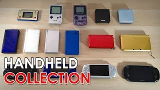 My Handheld Console Collection