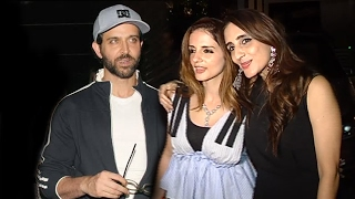 Hrithik Roshan's Ex Wife Sussane Khan PARTIES Late Night