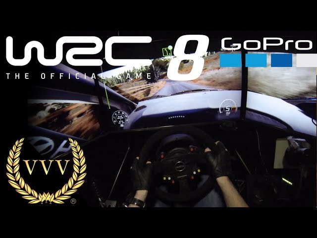 WRC 8 - GoPro British Rally stage