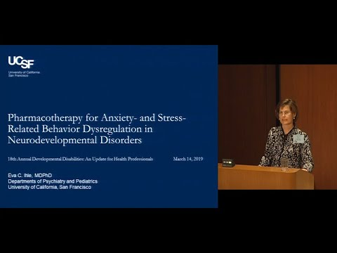 VIDEO: Pharmacotherapy for Anxiety and Stress-Related Behavior