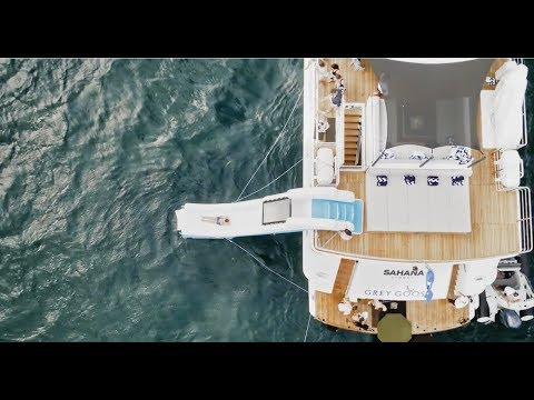 FunAir Yacht Slide on Grey Goose French Riviera Advert