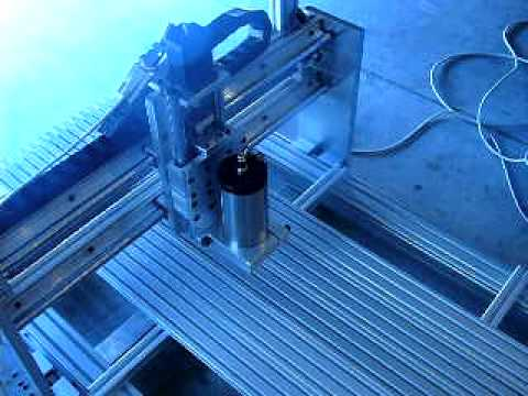 diy cnc router - hommade cnc router - low cnc router - ...