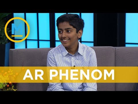 Meet the world's youngest augmented reality developer | Your Morning