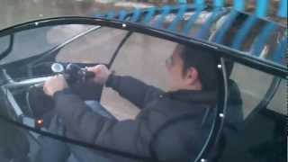 Electric assisted street legal two-seater cabin bicycle (trike)
