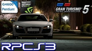 RPCS3 0.0.6-7788 - Gran Turismo 5 - Pentium G4600 - GTX 970 - Test (OpenGL/Vulkan)