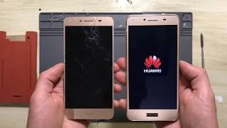 Ремонт за 15 минут! Huawei Y5 II замена дисплея, тачскрина (разбор)  --- СЦ ''UPservice'' г.Киев