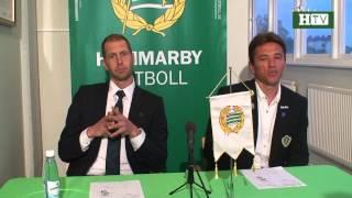HTV: Presskonferensen efter Hammarby - Jönköpings Södra