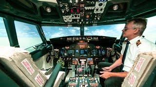 Volé un avión BOEING 737! ✈️😃| Simulador tamaño REAL!