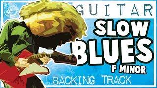 Скачать Slow Blues Guitar Backing Track In Fm