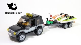 Lego City 60058 SUV with Watercraft - Lego Speed Build
