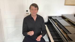 Mes cours de direction d'orchestre 1 -  Our conducting orchestral course 1 Laurent Pillot
