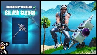Before You Buy The *NEW* STERLING Skin and SILVER SLEDGE Axe in Fortnite!