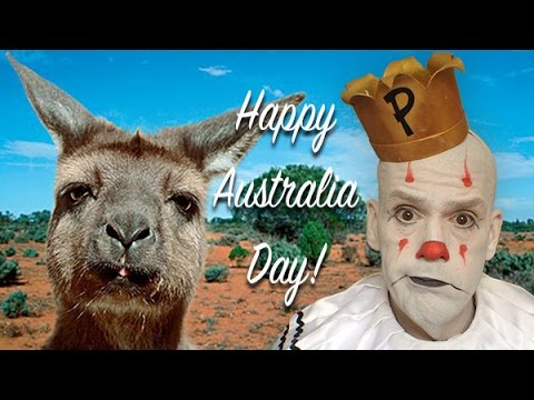 """Waltzing Matilda"" by Puddles Pity Party"